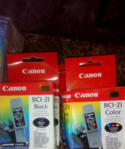 Cartucho Canon Bci-21 Color 100% Original Nuevos
