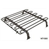 Bagageiro 1,30m C/ Fechamt Lateral 2 Racks Defender 110 2005