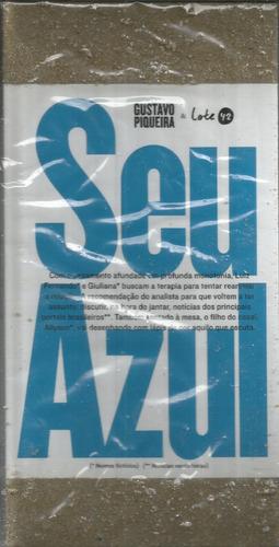 Livro Seu Azul - Gustavo Piqueira - Bonellihq Cx92 G19