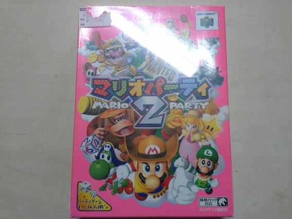 Mario Party 2 Novo Na Caixa Origina E Manual Nintendo 64 N64