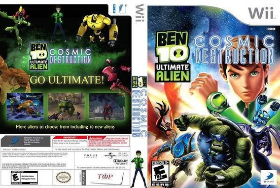 Ben 10 Ultimate Alien ( Cosmic Destruction )