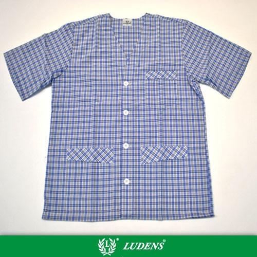 Art824 Pijama Camisero Manga Corta, Pantalon Largo - Ludens