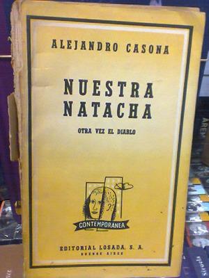 Nuestra Natacha - Otra Vez El Diablo. Casona, Alejandro. Los
