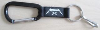 B0839 Chaveiro Da Banda Metallica Em Metal E Plástico, Medi