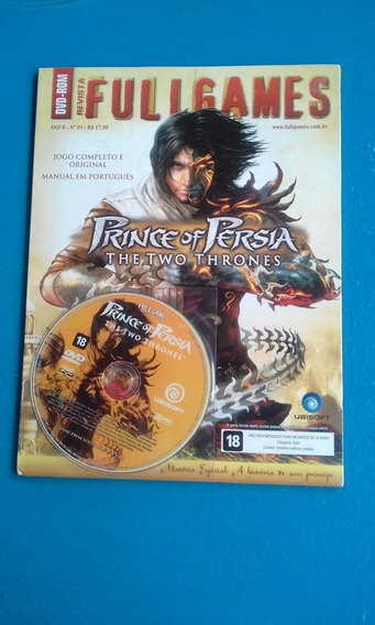 Cd De Jogos Full Games Prince Of Persia / The Two Thrones