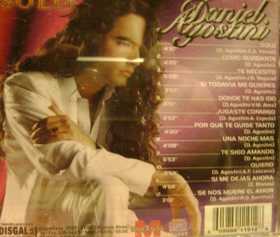Daniel Agostini-cumbia -cd Difusion