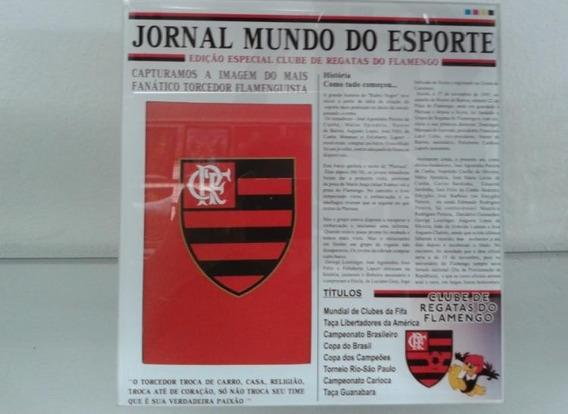 Porta Retrato Flamengo 10 X 15 + Copo Flamengo Promoção