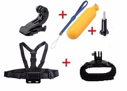 Kit Acessórios Para Câmera Gopro Hero 1/2/3/3+/4 E Scjam