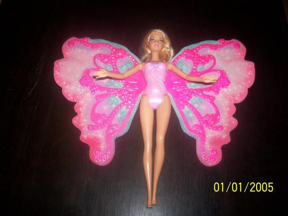 Boneca Barbie Borboleta Original Mattel