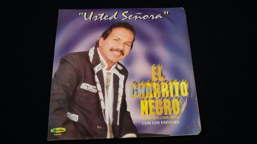 Charrito Negro Usted Señora Lp Vinilo Ranchera Mercado Libre