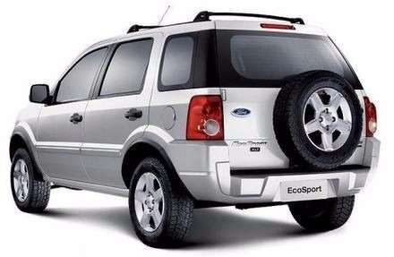 Sucata Ford Ecosport  (somente Pra Retirada De Peças)