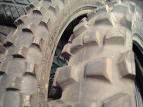 Pneu Moto Cross Michelin Jogo 90/90/21 E 120/90/18 Biscoitud