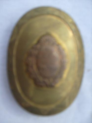 Escudo Antiguo Todo De Bronce Miralo Consulta