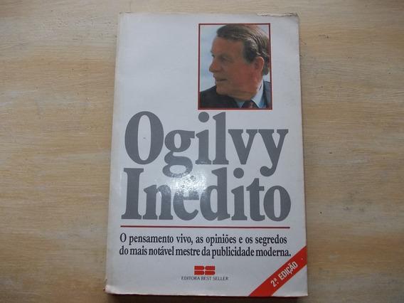 Livro - Ogilvy Inédito - David Ogilvy - 2ª Edição - 1986