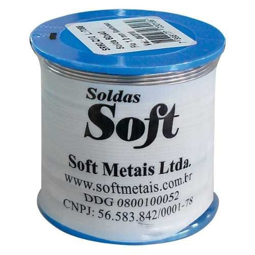 Rolo Carretel Solda Estanho Soft 500g 60x40