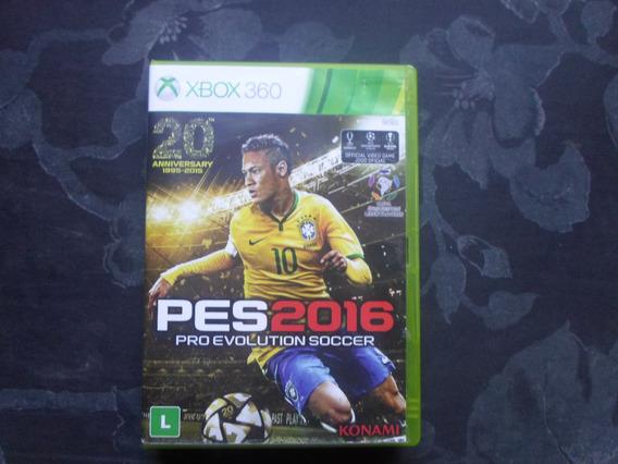 Pro Evolution Soccer 2016 Midia Fisica Xbox360