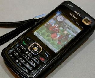 Celular Nokia N70 (original) Tecnologia 3g Estado De Novo