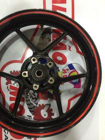 Roda Dianteira De Kawasaki Er6n 650cc Usada Semi Nova