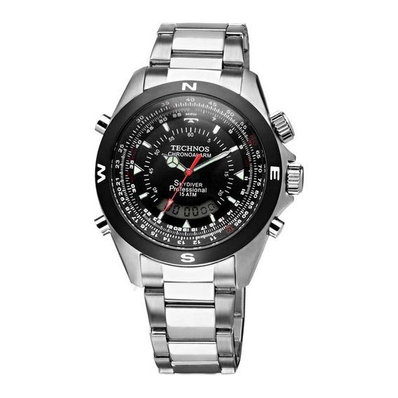 Relógio Technos Skydiver T20560/1p Original C/ Nota