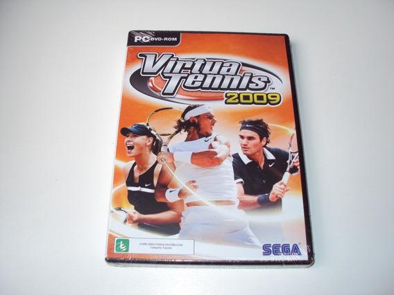 Virtua Tennis 2009 Original Lacrado Pc