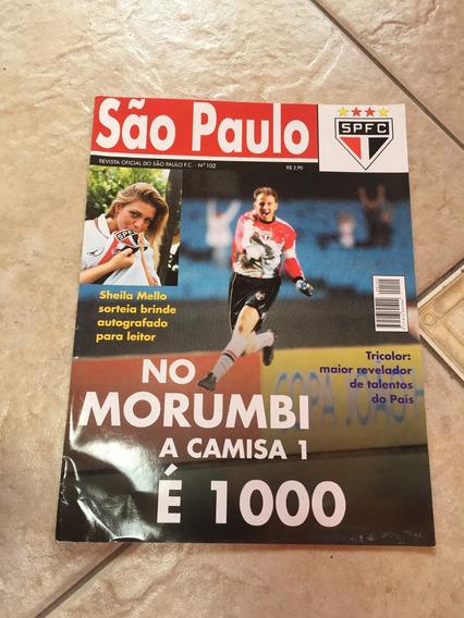 Revista Oficial Do São Paulo Rogério Ceni Sheila Mello M325