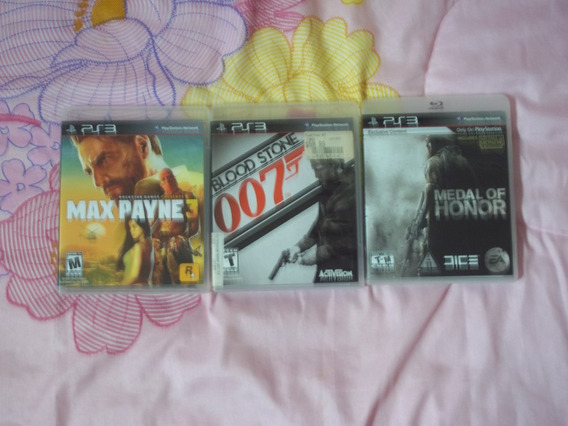 Ps3 Max Payne + Medal Of Honor