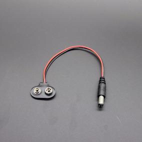 Conector Com Plug Para Bateria 9v Arduino R3