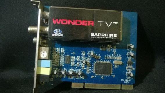 Capturadora De Tv Sapphire Wonder