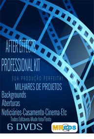 06 Dvds Templates Profissionais After Effects-o Melhor Do Ml