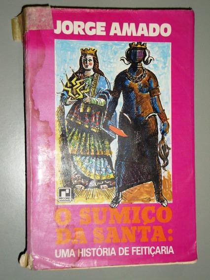 Livro O Sumiço Da Santa - Jorge Amado