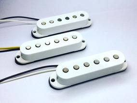 Set Trio De Captadores Single Alnico Para Guitarra
