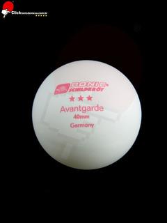 Caixa De Bolas Tênis De Mesa Modelo Avantgarde 3* Estrelas