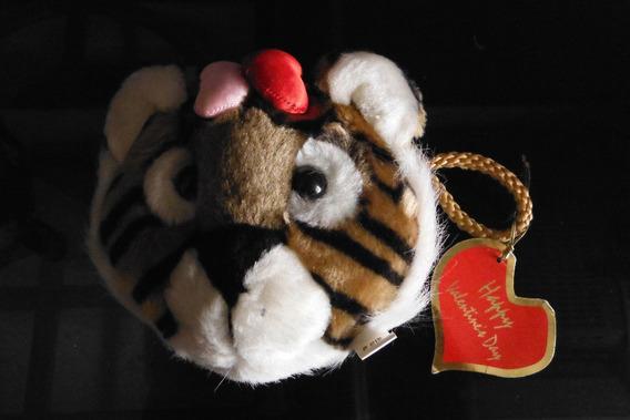 Bolsa Peluche Tigre San Valentin Love Amor Bag Corazon Heart