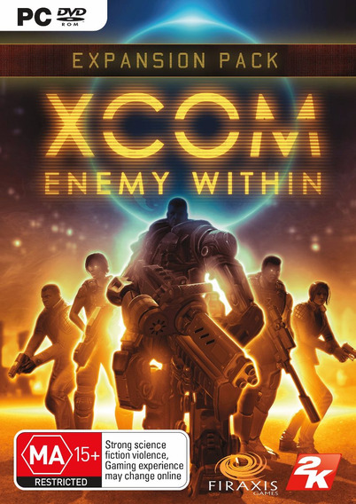 Jogo Xcom Enemy Within Pc Expansion Pack Mídia Física Novo