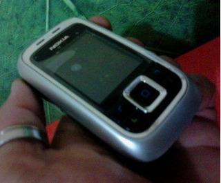 Nokia 6111 (original) Black 1.3mpx Flash Slaid Pequeno Lindo