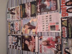 Lote Com 12 Revistas Rock (diversas)