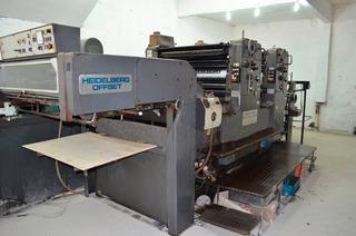 Impressora Off-set Heidelberg, Bicolor 72 X 102