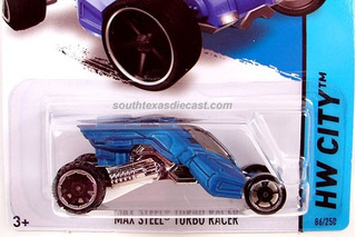 Max Steel Turbo Racer Hot Wheels Auto 1:64 2014
