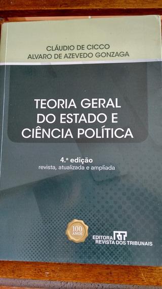 Livro Teoria Geral Do Estado E Da Ciência Política 4° Ed.