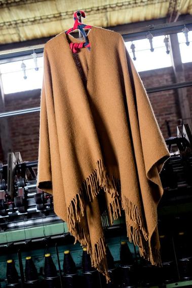 Poncho Coya De Llama Warmi 100% Natural