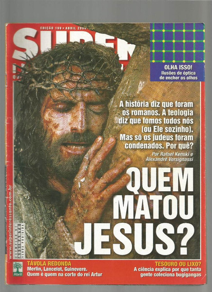 Revista Super Interessante Ed.199 Abril 2004 Jesus
