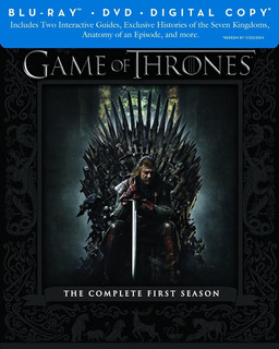 Game Of Thrones: 1ª Temporada - Blu Ray - Importado