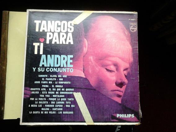 Lp Disco Vinilo Tangos Para Ti Andre Y Su Conjunto