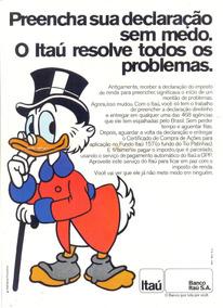 Propaganda Do Tio Patinhas Para O Itaú! 1974!