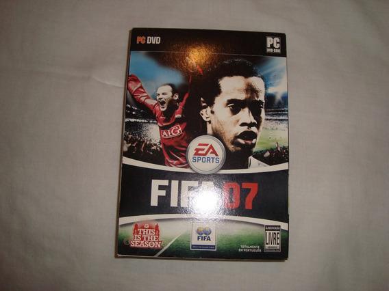Jogo Cd - Fifa 07 - Na Caixa