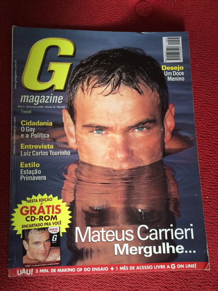 Revista G Magazine Mateus Gato Dotado Kleber M Lolito Desejo