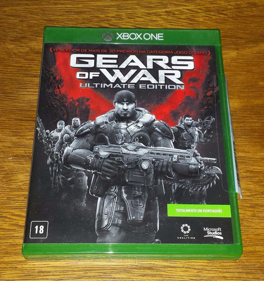 Gears Of Wars Ultimate Edition Xbox One Xbone Gow