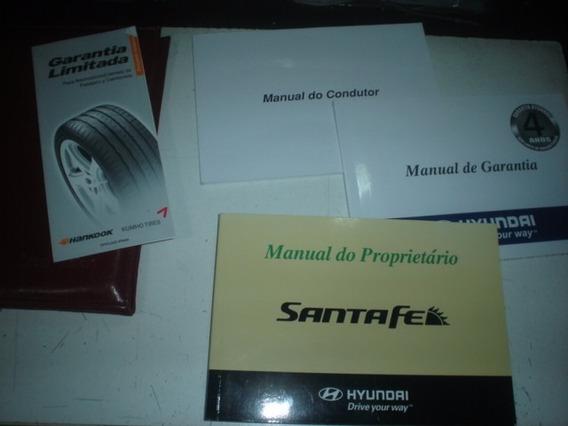 Manual Hyundai Santa Fe 2007 2008 2009 Original 2.7 Santafe