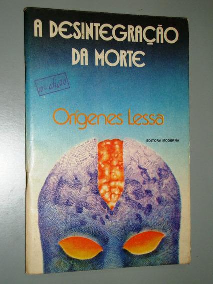 Livro A Desintegração Da Morte - 1983
