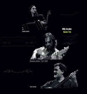 Willy González Nuevo Trío: Buenos Aires Oct 2011 - Cd + Dvd